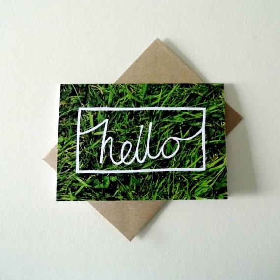 hello grass