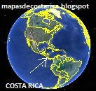 COSTA RICA Google Earth