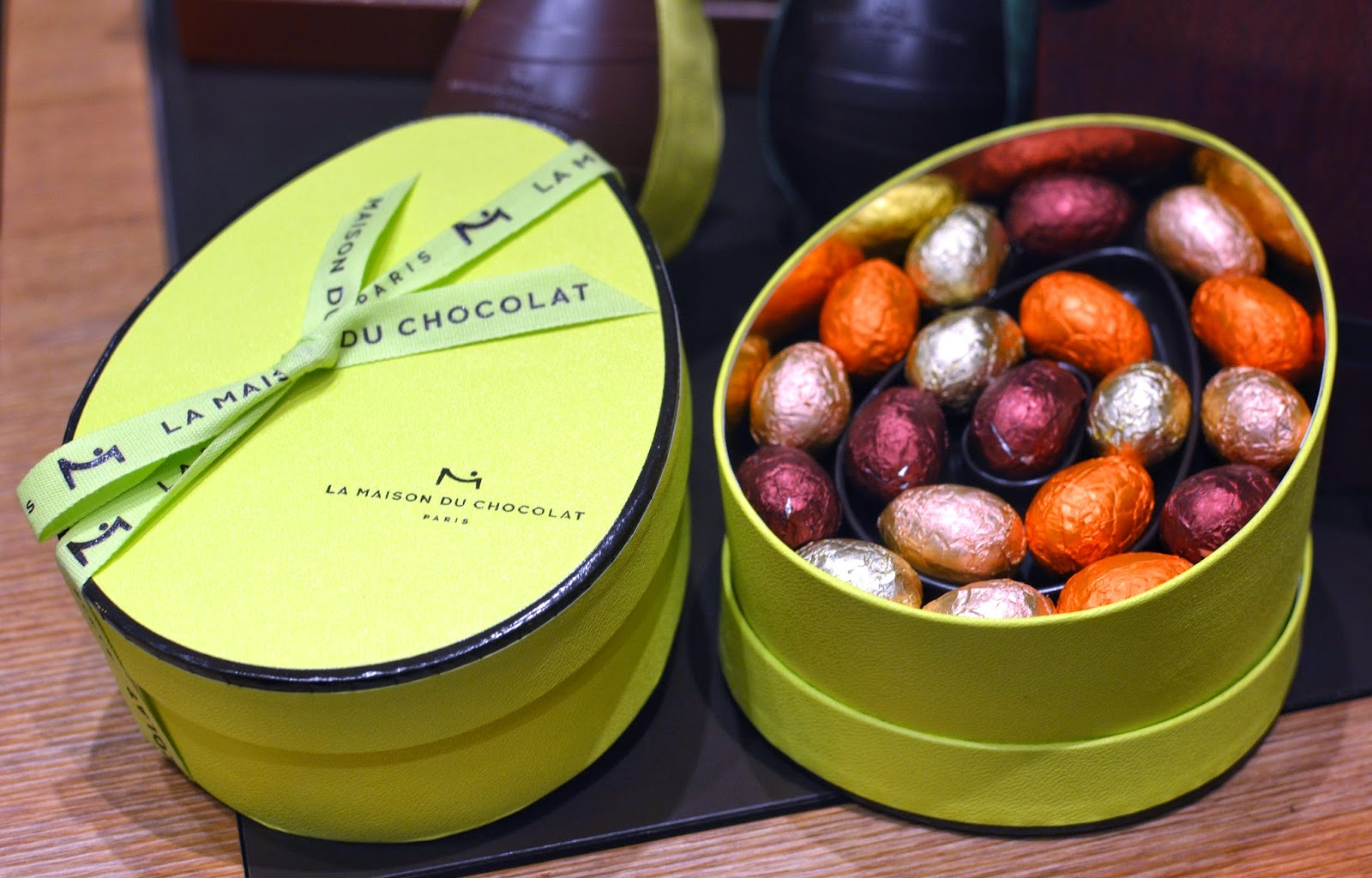 La maison du chocolat easter collection 2015 hong kong hungry praline eggs gift box easter egg negle Image collections