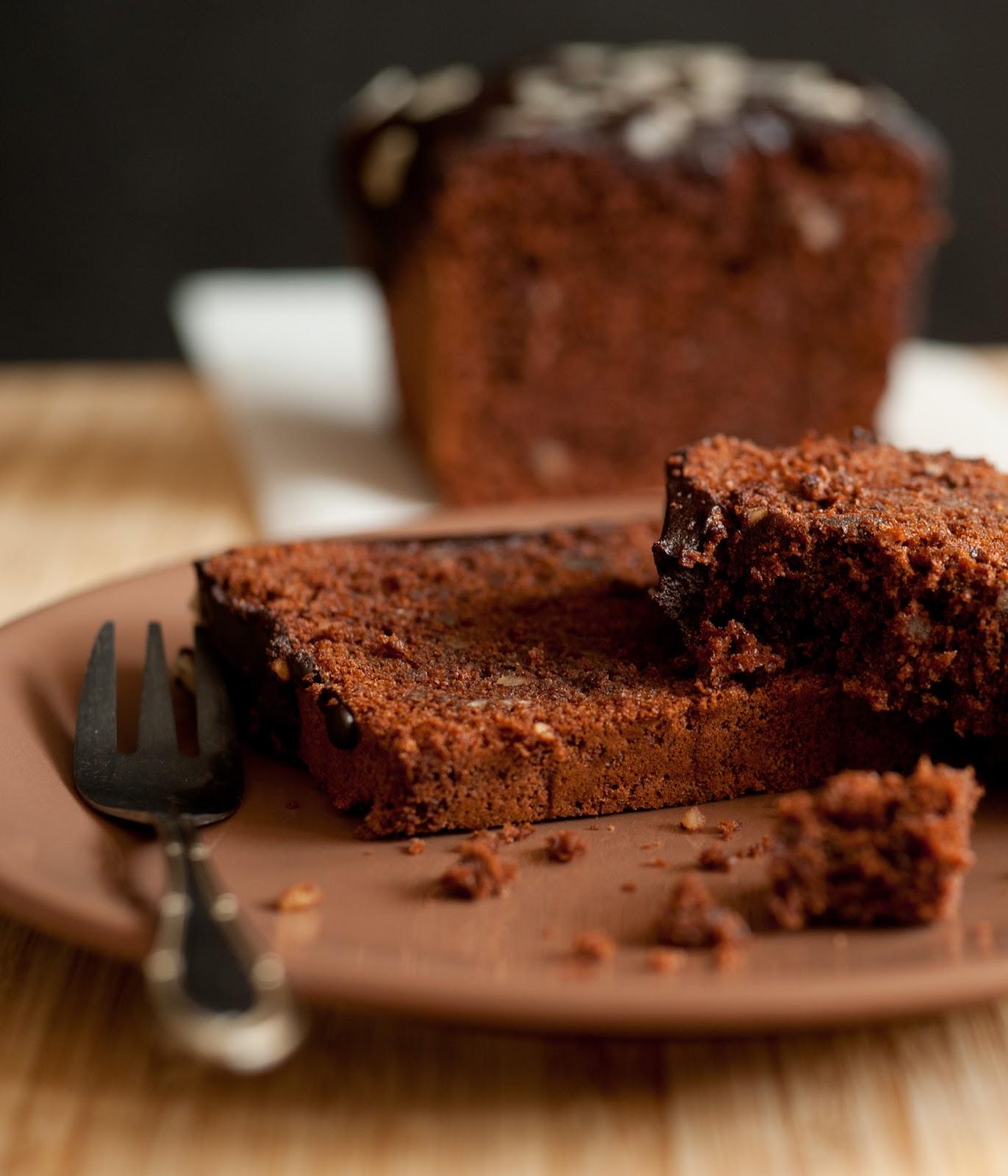Ciasto migdałowe z czekoladą
