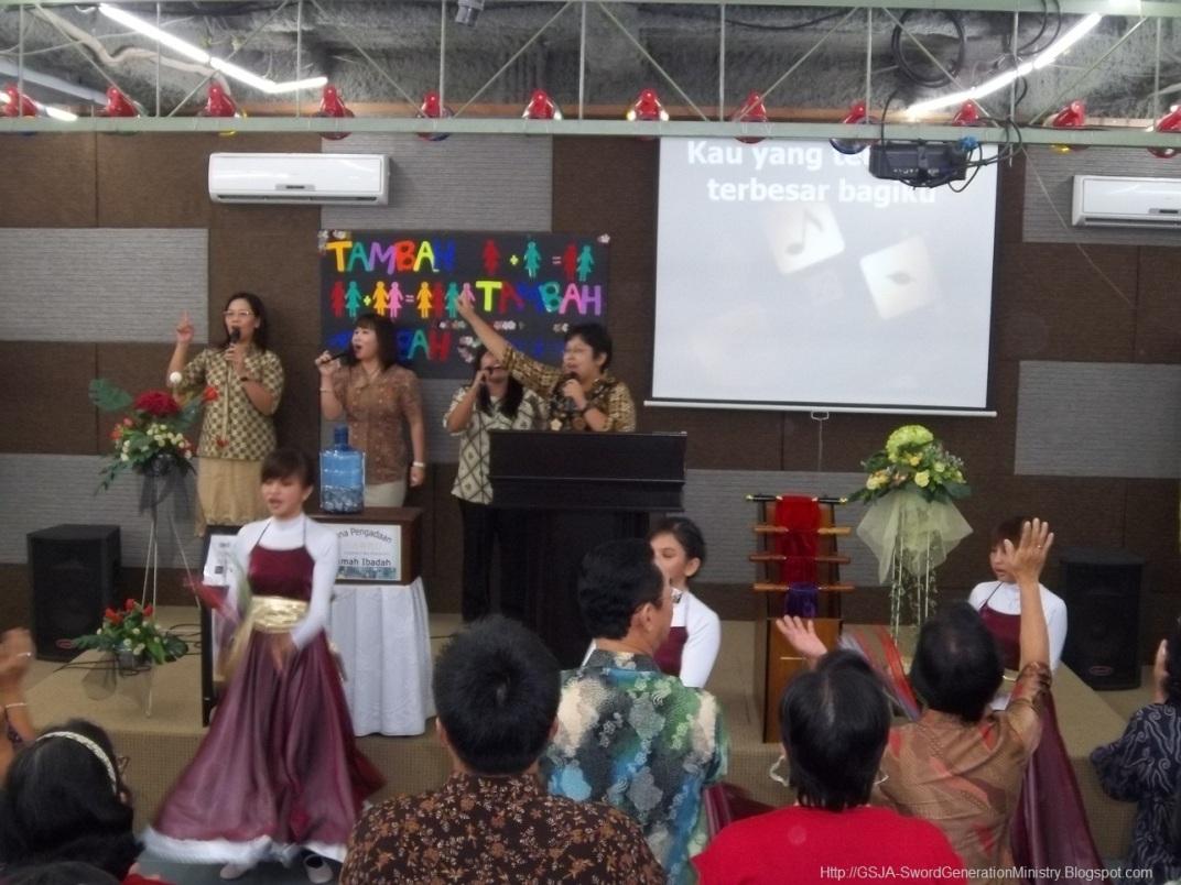 Worship Harnas Wanita GSJA Sword 2011
