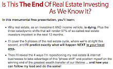 Important Information for Real Estate Investors: