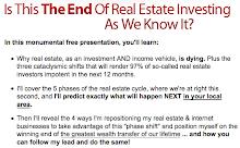 Important Information for Real Estate Investors: