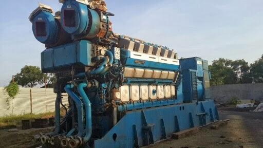 HFO diesel generator for sale, Dual fuel wartsila generator, medium speed generator for sale
