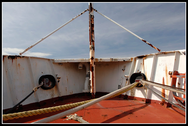 Nova Scotia; Rust Bucket; Ship: Boat