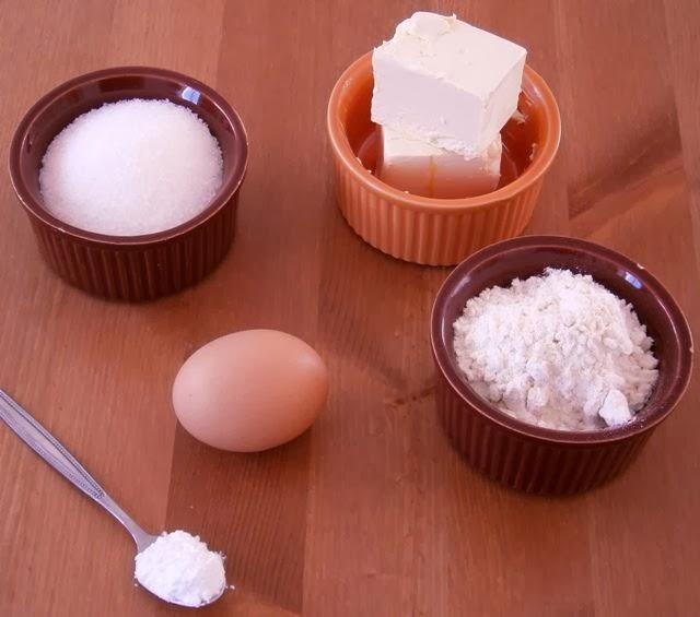 Μπισκότα Ζάχαρης Υλικά