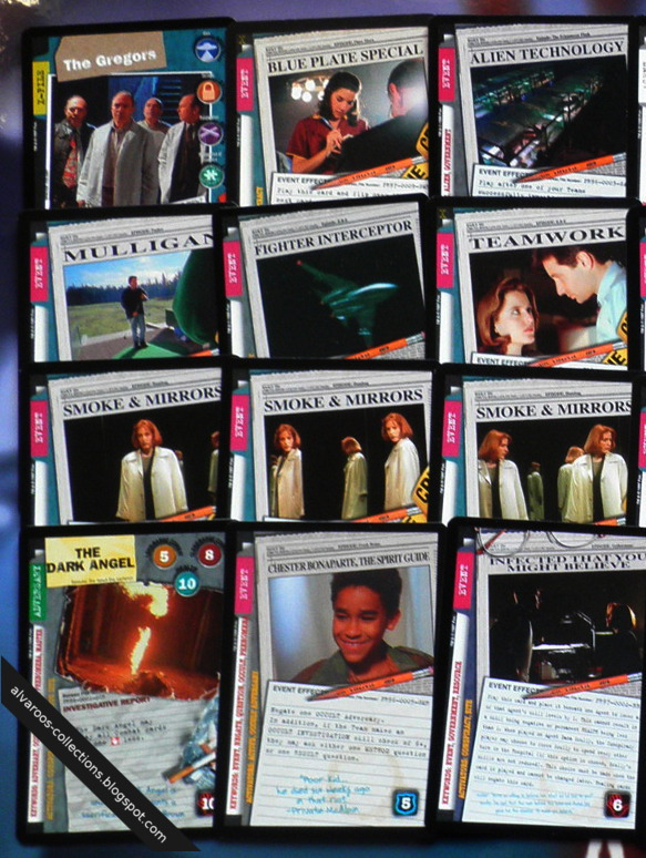 Files CCG - ultra rares and promos  including  Somke  amp  Mirrors  UR    X Files Deny Everything