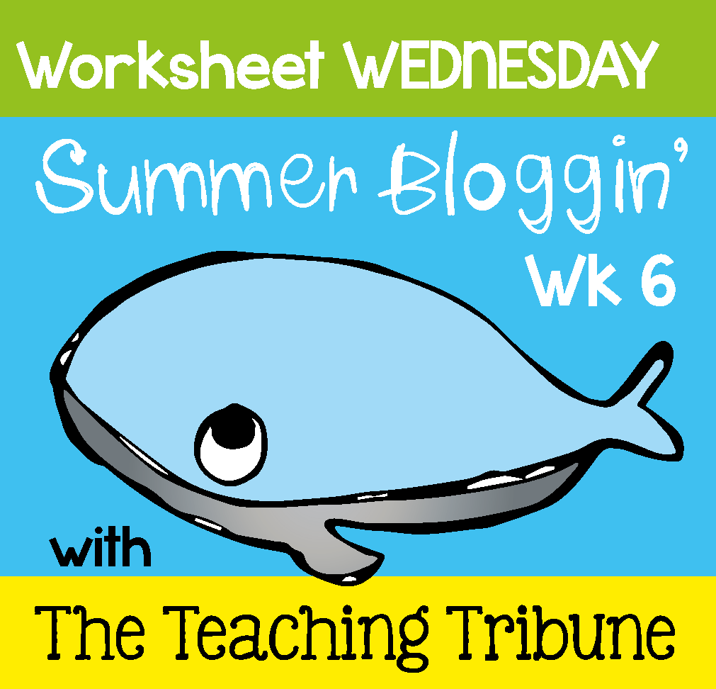 The Traveling Teacher: Worksheet Wednesday - Two Freebies
