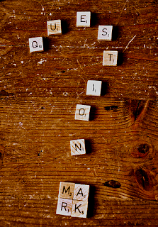 question mark, scrabble words, why