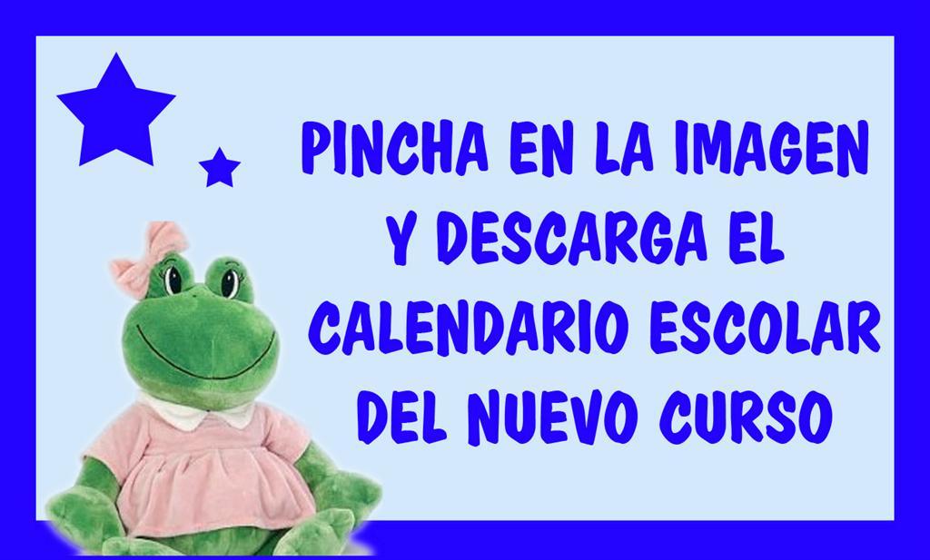CALENDARIO ESCOLAR 17 - 18