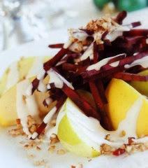 Ensalada de Manzana y Betabel