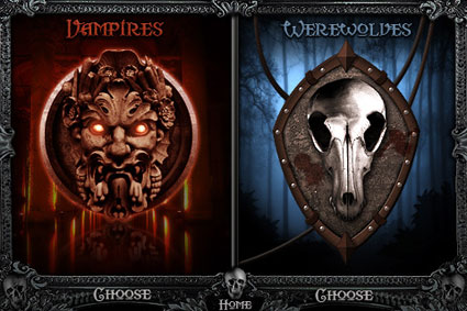vampire and werewolf games