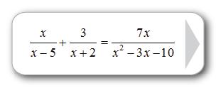 Rational Equations?