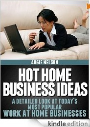 Review: Angie Nelson's Ebook, Hot Home Business Ideas