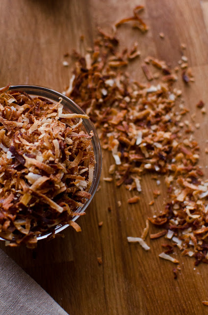 Coconut Haupia Cups with Toasted Coconut