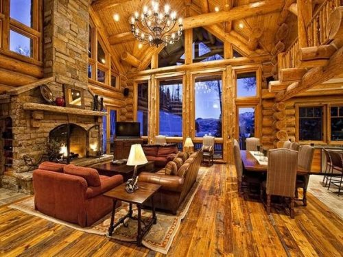 1000 Images About Log Cabin Dwellings On Pinterest Log