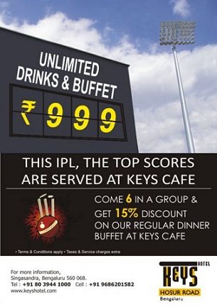 Unlimited-drinks-buffet-keys-hotel