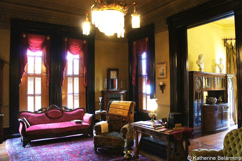 Flavel House Museum Library Astoria Oregon