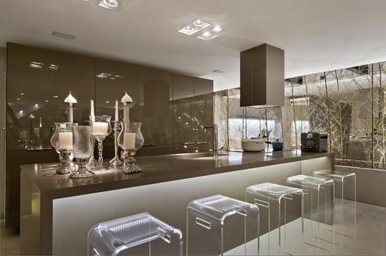Cozinha Com Sala De Jantar De Luxo ~ Luxo Cozinha