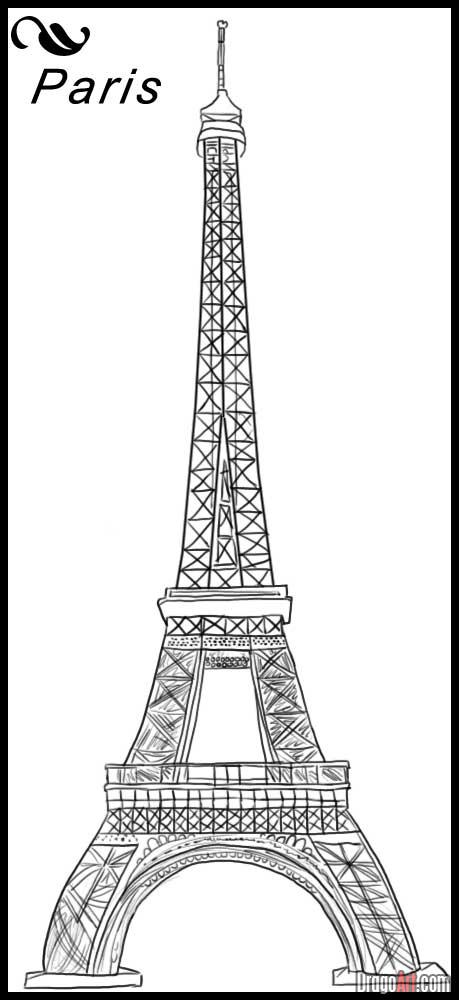 paris eiffel tower cartoon free download wallpaper. Black Bedroom Furniture Sets. Home Design Ideas