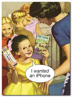 iPhone ladybird card