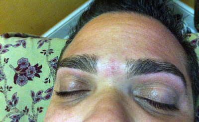 Men's Eyebrows after