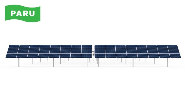 [PARU Solar Tracker] Single Axis Trackers 02