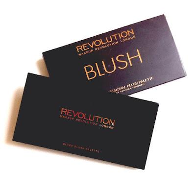 makeup revolution packaging sugar and spice blush palette