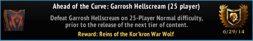 Ahead of the Curve: Garrosh Hellscream (25)