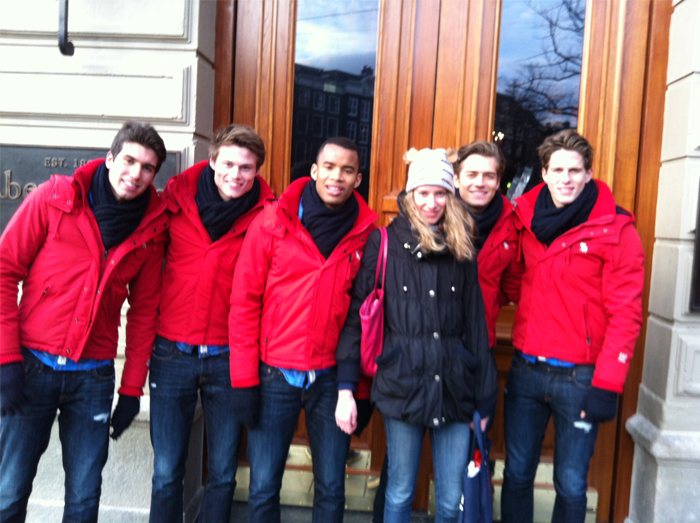 modellen | abercrombie | amsterdam | Abercrombie & Fitch |  models | fun | Damian | James |  Ric | Michael |  Luiz Piva | April Fashionreports | fashion | mode | fashionblogger | blogger