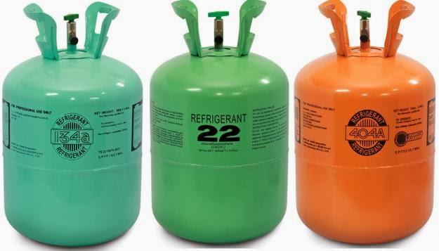 Đặc điểm gas R410A và gas R22 - sua chua kho lanh