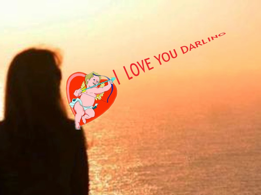 The Greeting Card For You I Love You Darling