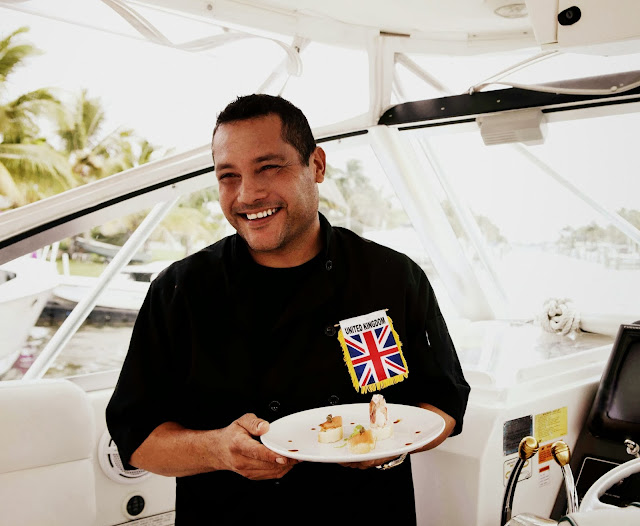Trends 2014: Benny Diaz, the chef and the sea