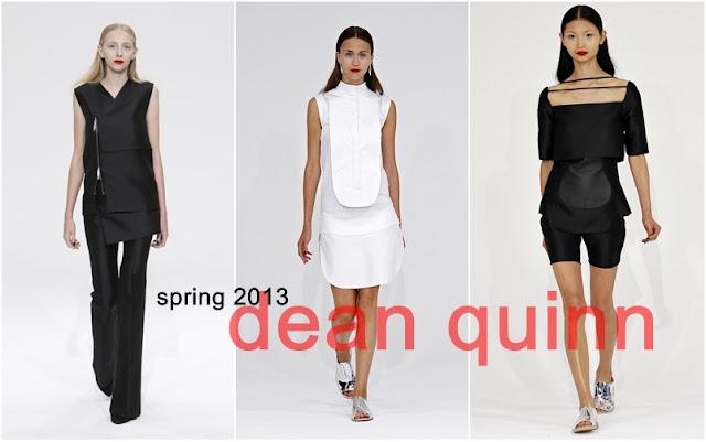 Dean Quinn Spring 2013 collection