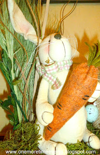 Bunny holding Carrot at One More Time Events.cm