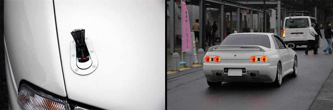 Nissan Skyline po tuningu, HKS Zero-R, japońska motoryzacja, チューニングカー