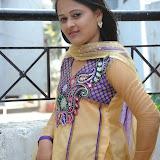 Usha Photos in Salwar Kameez at Gundello Guchi Guchi Champake Movie Press Meet 18