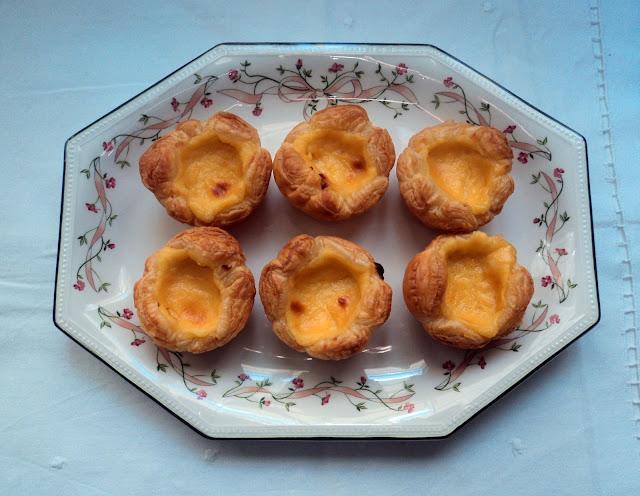 Tartaletas de crema portuguesas receta casera