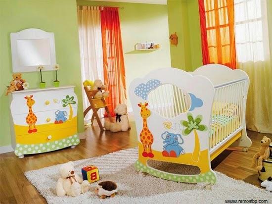 Décoration chambre bébé girafe a faire