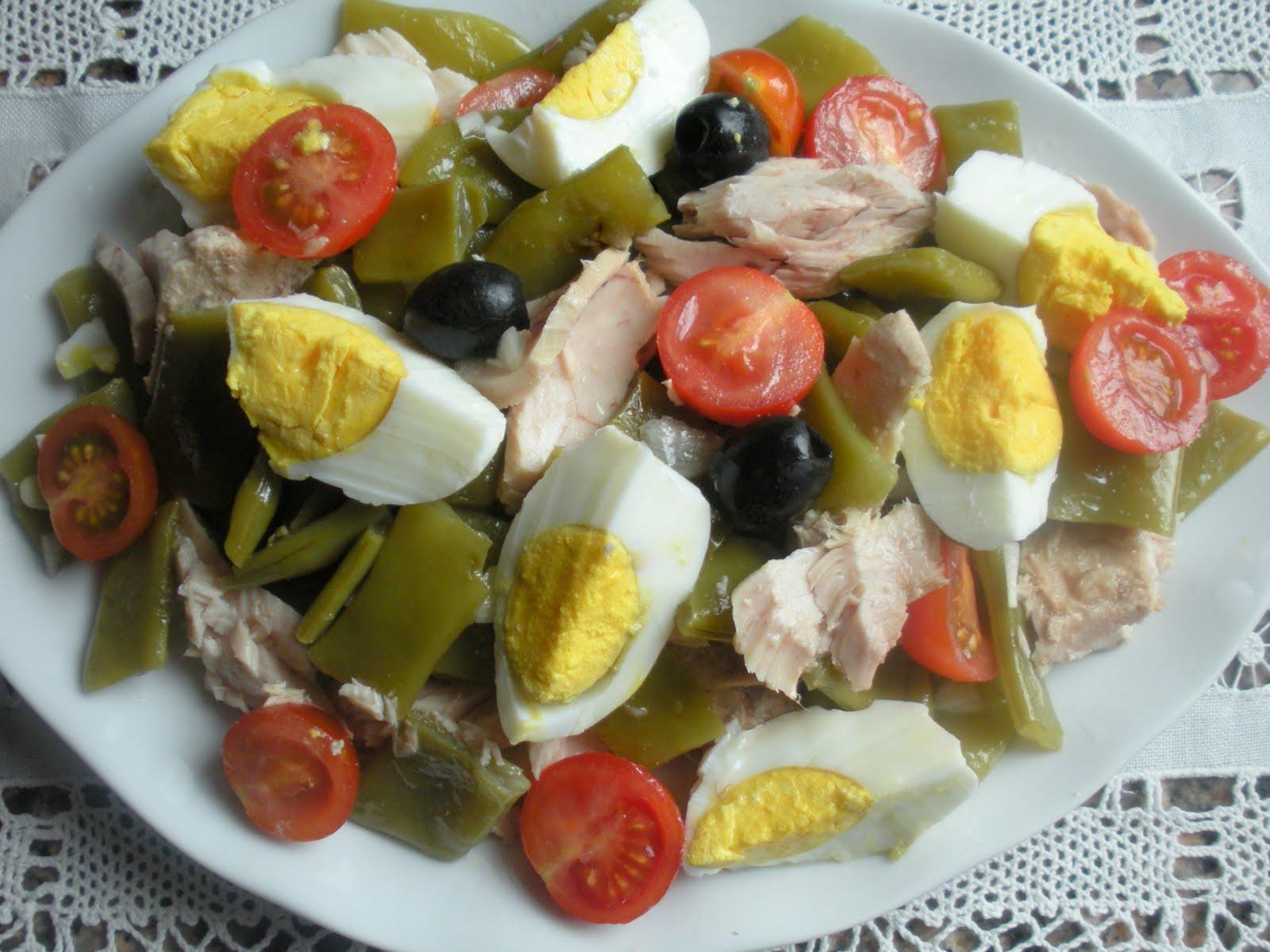 Comandas en pol polis ensalada judias verdes - Como preparar las judias verdes ...