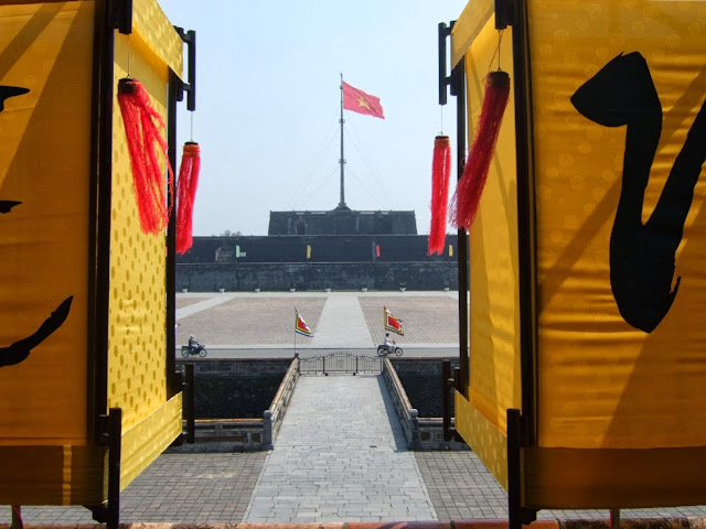 Hue Citadel Flag Tower