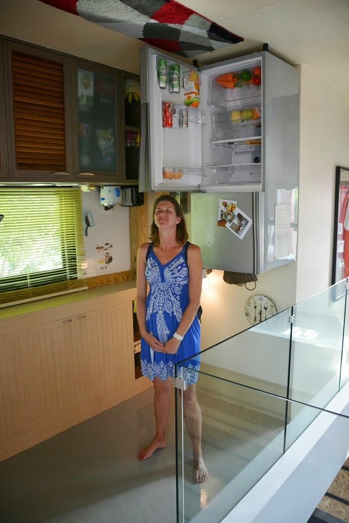 Upside down house Phuket kitchen
