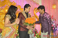 Celebraties at Actor Bharat n Jessy Wedding Reception Photos+%252810%2529 Actor Bharath n Jessy Wedding Photos