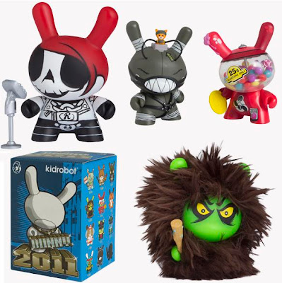 Kidrobot Dunny Series 2011 and Packaging by MAD