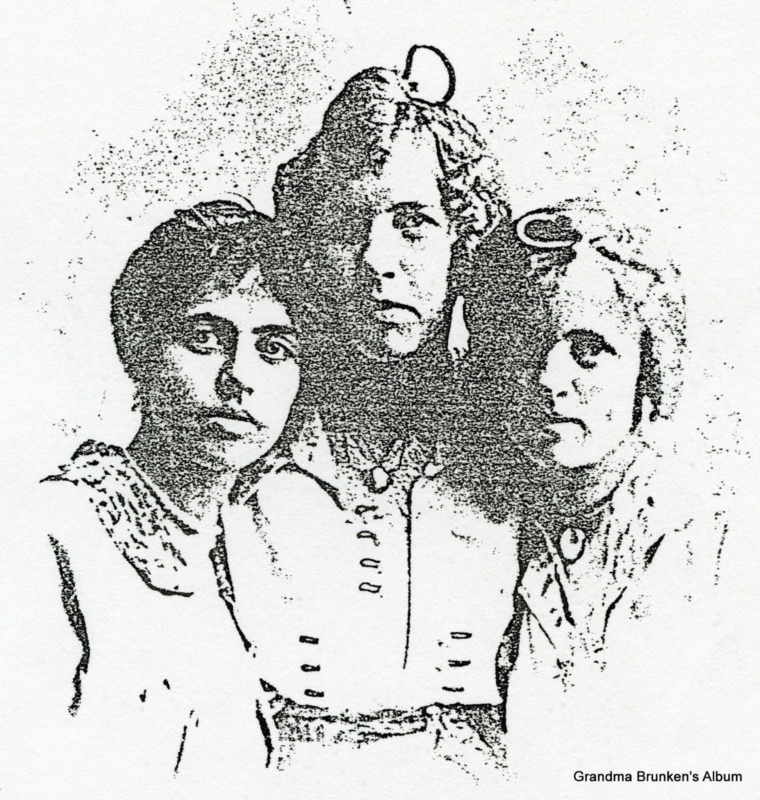 Alma, Till & Lena Petersen