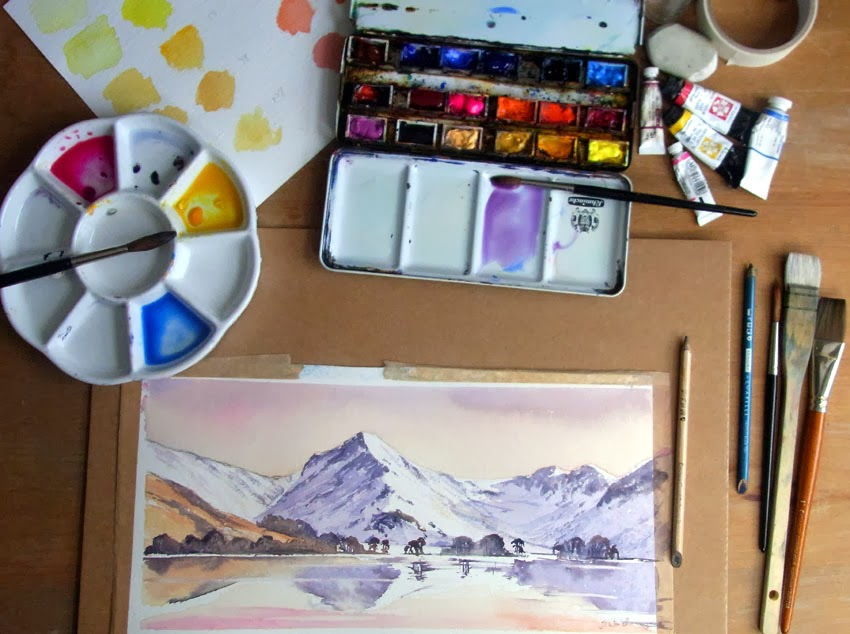 Online  Watercolour Course with Jane Ward