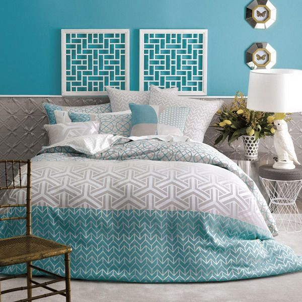 Superieur I Have Gathered Some Cool Aqua Bedroom Decor For You! As Usual, Thank You  For Visiting: )