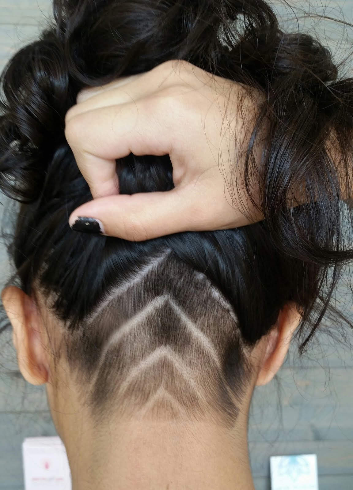 Undercut Nape Design