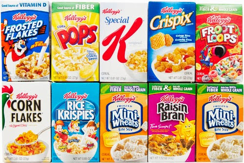 Boxed cereals are not food