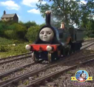 Knapford station Thomas and friends Emily knows best black loch run excellent Emily train new route